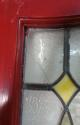 DE0592 LOVELY EDWARDIAN PANELLED PINE STAINED GLASS DOOR - picture 3