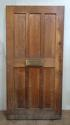 DE0637 AN EDWARDIAN STYLE ENGLISH OAK DOOR - picture 1