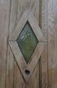 DE0638 STUNNING EDWARDIAN OAK COTTAGE STYLE DOOR - picture 3