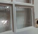 DE0656 AN EDWARDIAN ARTS & CRAFTS STYLE PINE GLAZED DOOR - picture 3