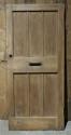 DE0675 STUNNING EDWARDIAN ARTS & CRAFTS OAK FRAMED PLANKED DOOR - picture 2