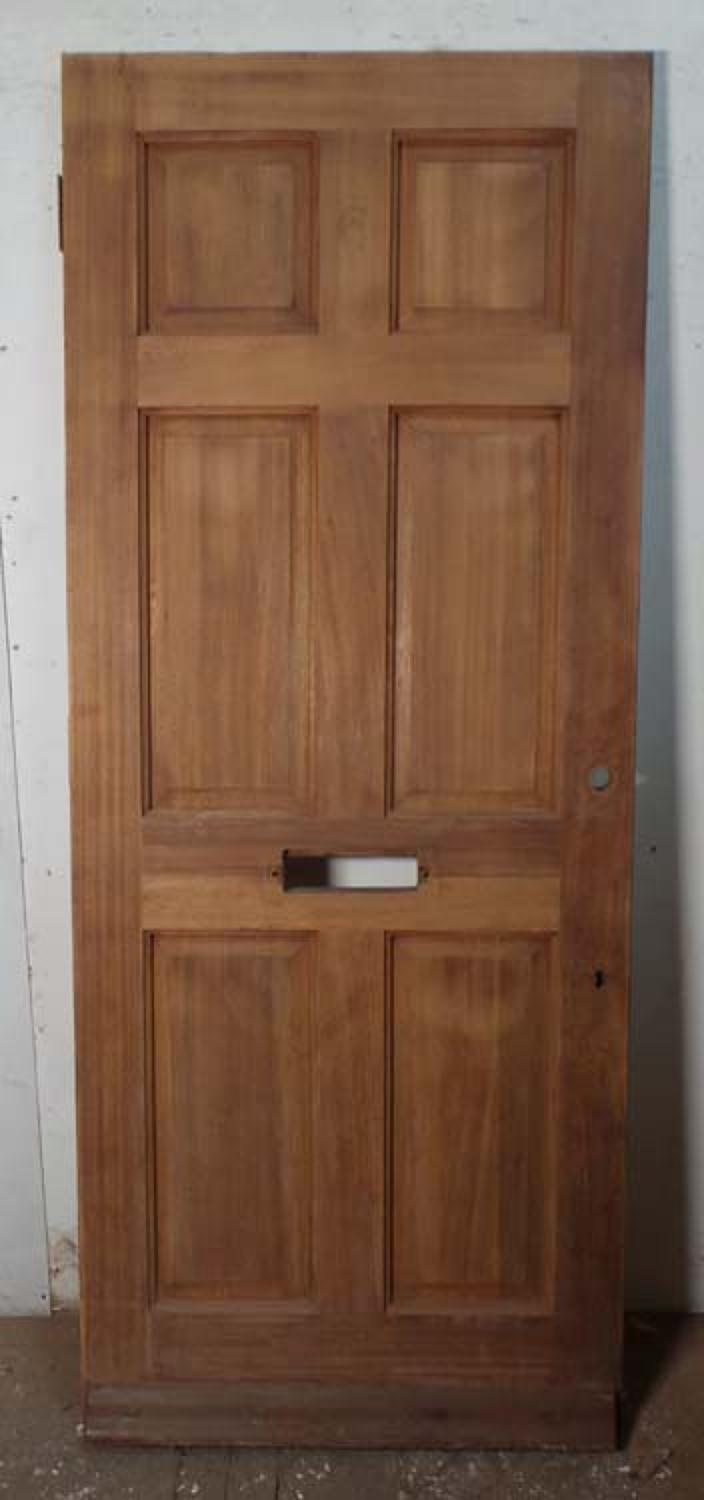 DE0687 MODERN EDWARDIAN STYLE HARDWOOD PANELLED DOOR