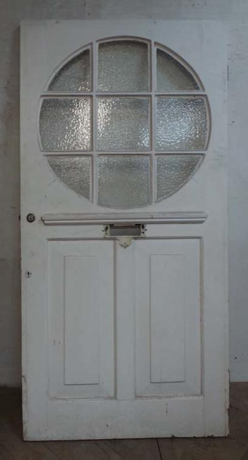 DE0690 A CLASSIC EDWARDIAN PANELLED PINE DOOR