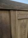 DE0693 ORIGINAL EDWARDIAN ARTS & CRAFTS STYLE OAK PANELLED DOOR - picture 3