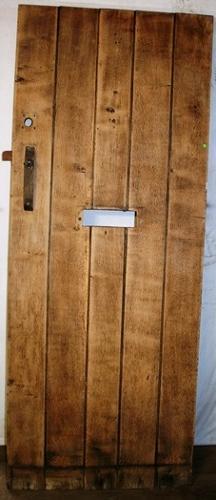 DE0704 An Oak Cottage Door, Suitable for External Use