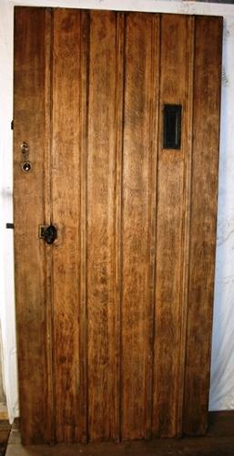 DE0705 An Oak Cottage Door, Suitable for External Use