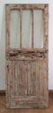 DE0569 A LOVELY EDWARDIAN PINE GLAZED DOOR - picture 1