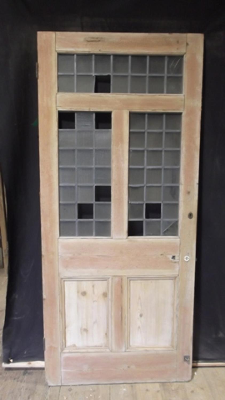 DI0328 VICTORIAN GLAZED PINE DOOR