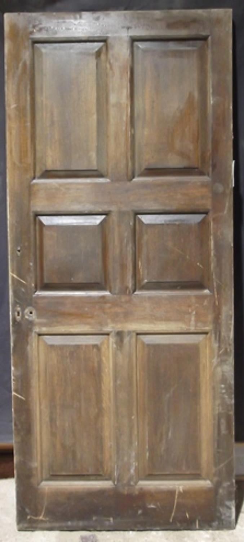 DI0330 Solid Oak Interior Library Door