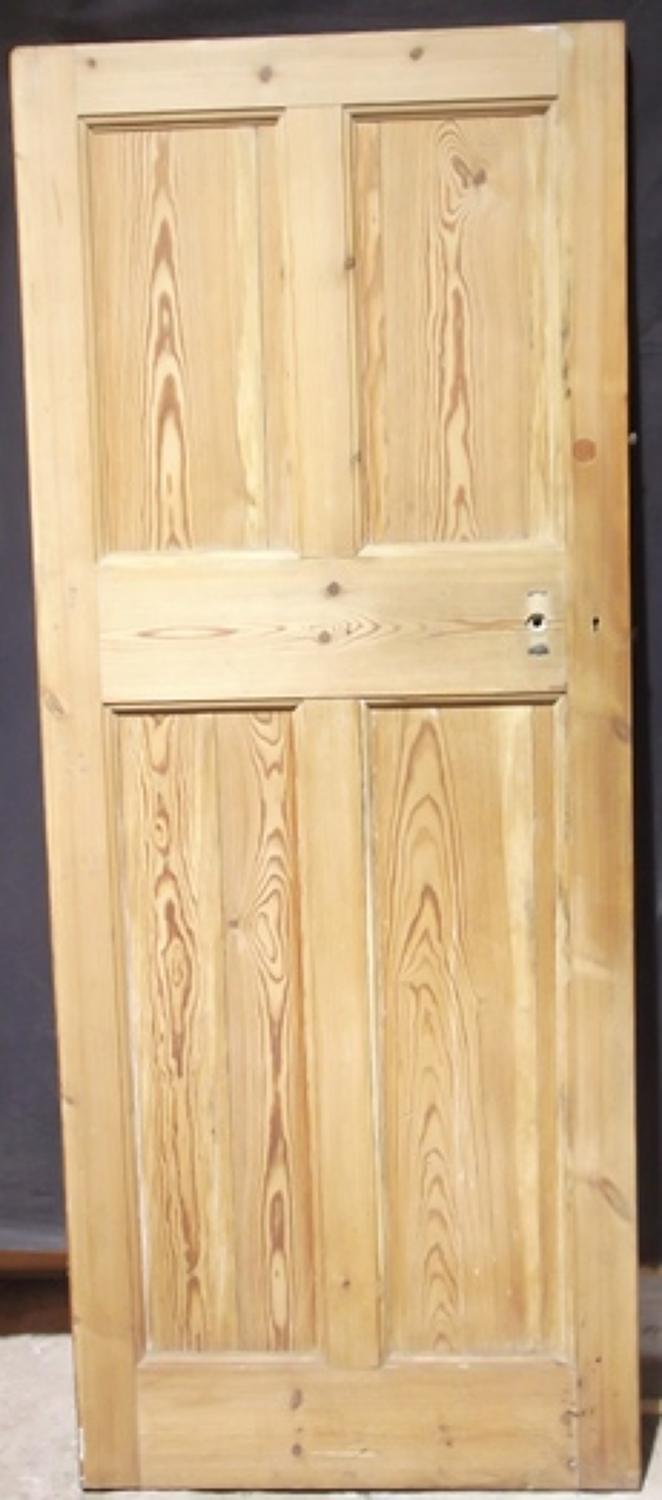 DI0341 An Early Edwardian, Solid Pine Door, c.1910