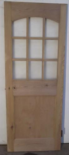 DI0381 An Early Edwardian Door c.1900 with 9 Glass Panels