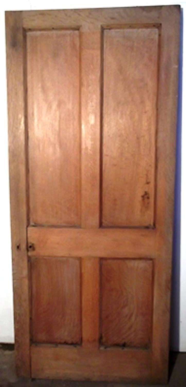 DI0391 An Early Edwardian Oak door , C.1910