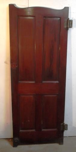 DI0400 A Mahogany, Victorian Lavatory or Cubicle Door c.1865