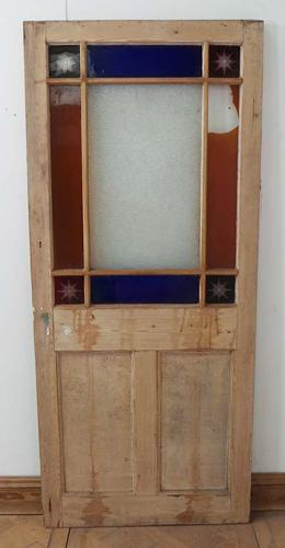 DI0461 LOVELY VICTORIAN PINE 'CARDIFF' STYLE DOOR