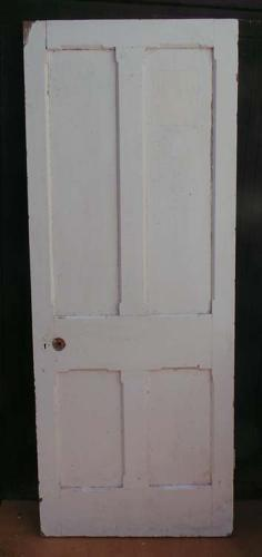 DI0518 LOVELY VICTORIAN PANELLED PINE GOTHIC STYLE DOOR