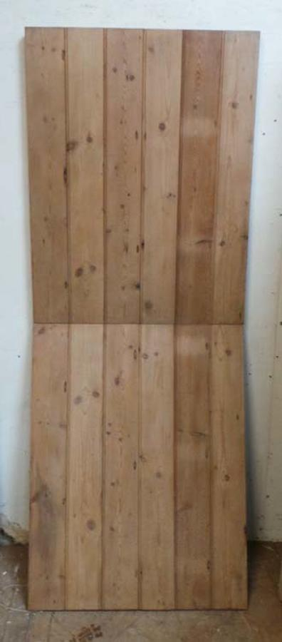 DI0540 LOVELY MODERN WORKSHOP MADE RECLAIMED PINE STABLE DOOR