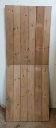 DI0540 LOVELY MODERN WORKSHOP MADE RECLAIMED PINE STABLE DOOR