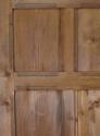 DI0553 EDWARDIAN ARTS & CRAFTS PITCH PINE PANELLED DOOR - picture 3