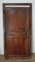 DI0555 PRETTY VICTORIAN FRENCH CHERRY CUPBOARD DOOR AND FRAME - picture 1