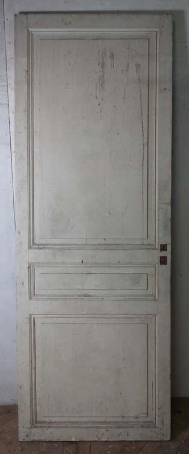 DI0563 STUNNING LARGE FRENCH PINE CHATEAU DOOR