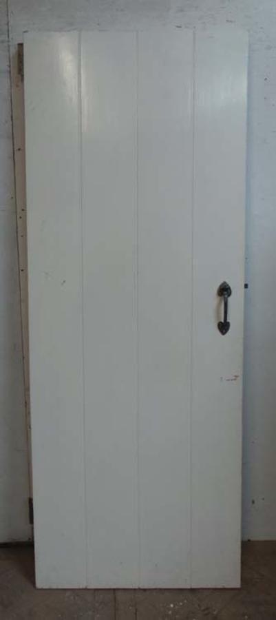 DI0583 ARTS & CRAFTS STYLE PLANKED PINE DOOR