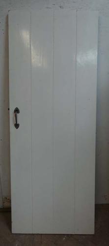 DI0587 ARTS & CRAFTS STYLE PLANKED PINE DOOR