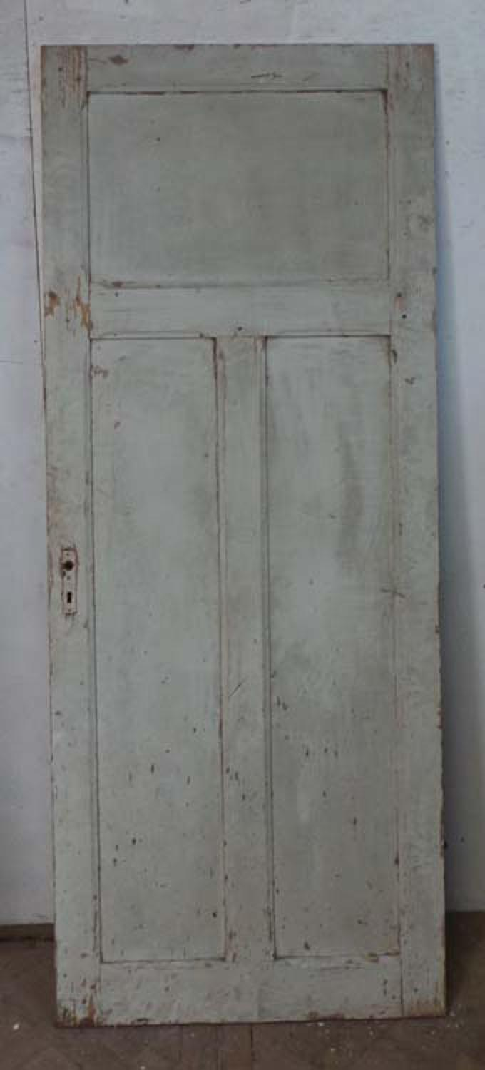 DI0591 STUNNING VICTORIAN FRENCH PINE DOOR