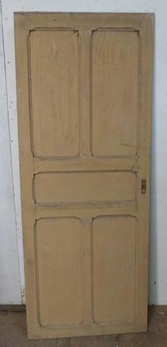DI0592 LOVELY VICTORIAN FRENCH PINE DOOR
