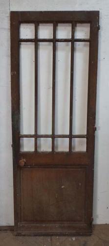 DI0595 PRETTY VICTORIAN FRENCH PINE DOOR
