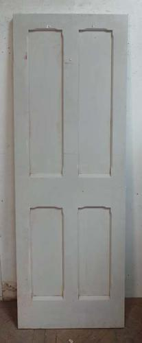 DI0602 LOVELY VICTORIAN STYLE GOTHIC PANELLED PINE DOOR