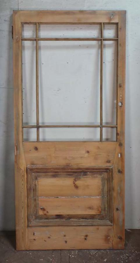 DI0606 LOVELY VICTORIAN PINE 'CARDIFF' STYLE DOOR