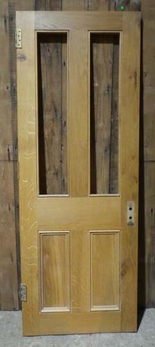 DI0609  LOVELY VICTORIAN STYLE MODERN PANELLED OAK DOOR