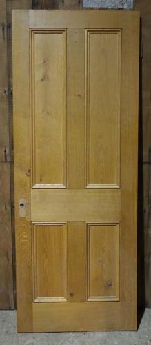 DI0610  LOVELY VICTORIAN STYLE MODERN PANELLED OAK DOOR