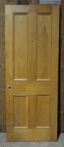 DI0613  LOVELY VICTORIAN STYLE MODERN PANELLED OAK DOOR