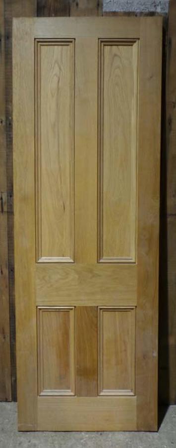 DI0614  LOVELY VICTORIAN STYLE MODERN PANELLED OAK DOOR