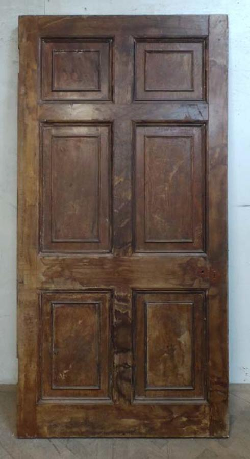 DI0619 CLASSIC GEORGIAN HARDWOOD VENEERED PANELLED DOOR