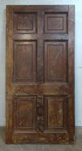 DI0619 CLASSIC GEORGIAN HARDWOOD VENEERED PANELLED DOOR