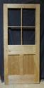 DI0628 LOVELY VICTORIAN PINE DOOR FOR GLAZING - picture 2