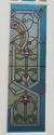 DP0148 STUNNING PAIR OF EUROPEAN ART NOUVEAU STAINED GLASS DOORS - picture 3