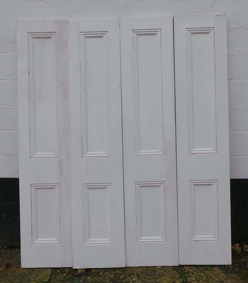 DP0176 SET OF FOUR RECLAIMED PINE DOORS/ROOM DIVIDERS