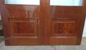 DP0183 LOVELY PAIR OF GLAZED VICTORIAN STYLE HARDWOOD DOORS - picture 3