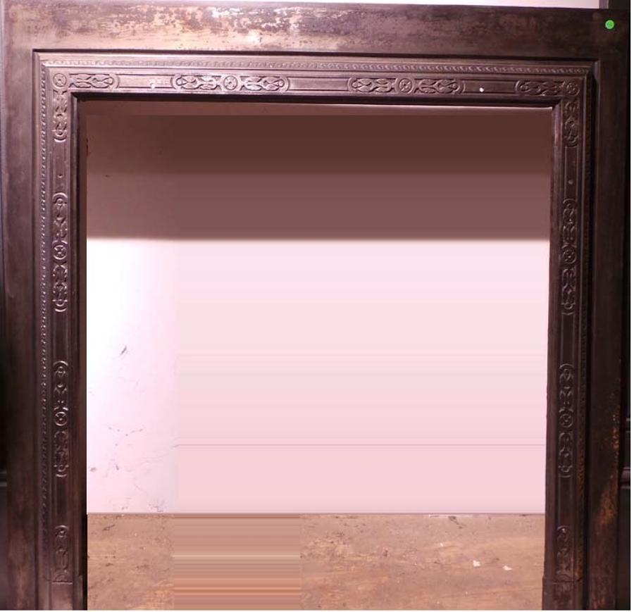 FT0001 Cast Metal Trim for Fireplace or Woodburner