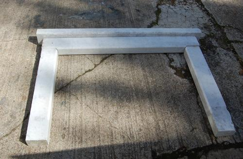 FS0020 A Lovely Carrara Marble Fire Surround