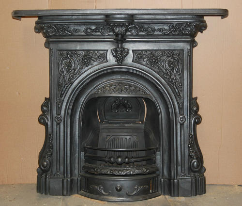 FC0022 A LARGE REPRODUCTION COALBROOKDALE COMBINATION FIRE