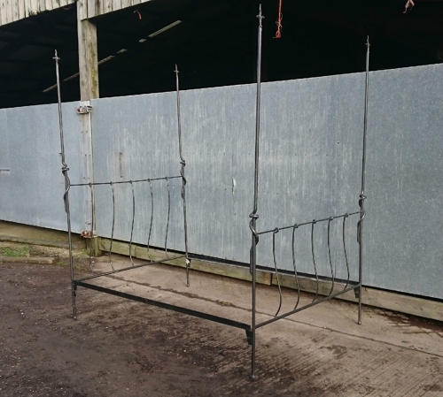 Reclaimed Wrought Iron Double 4'6