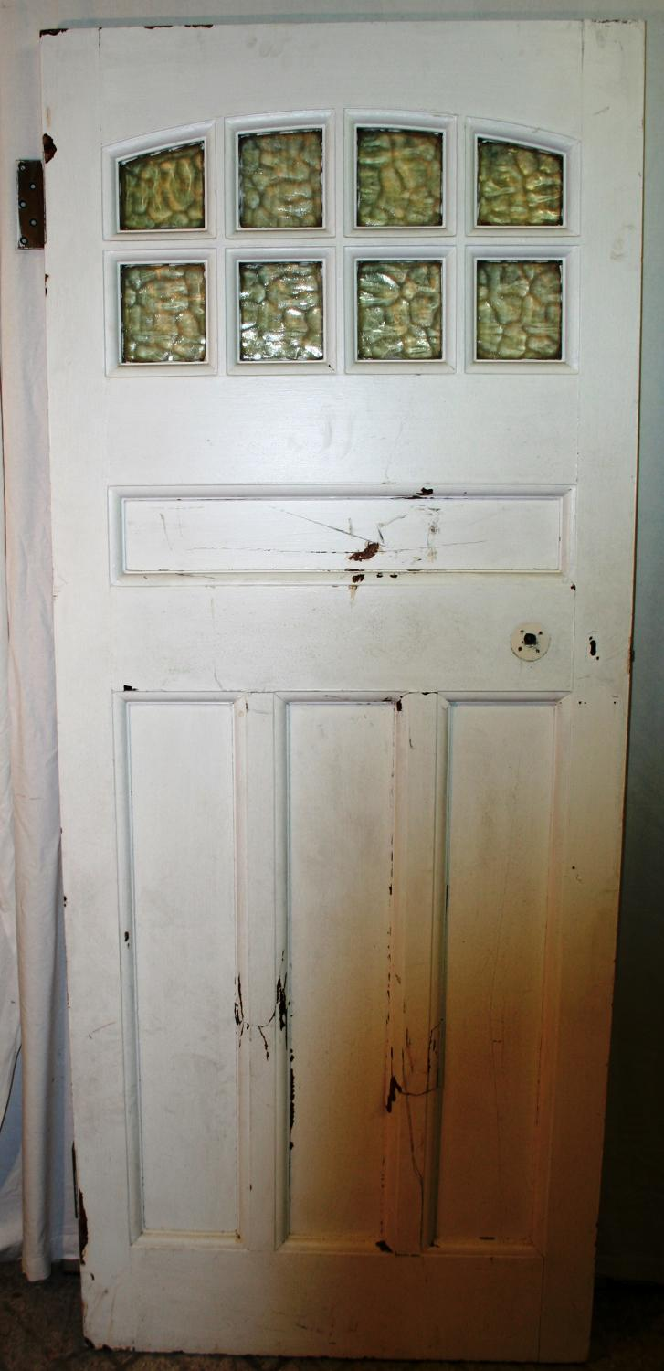 DB0618 An Early Edwardian Door, suitable for internal or external use