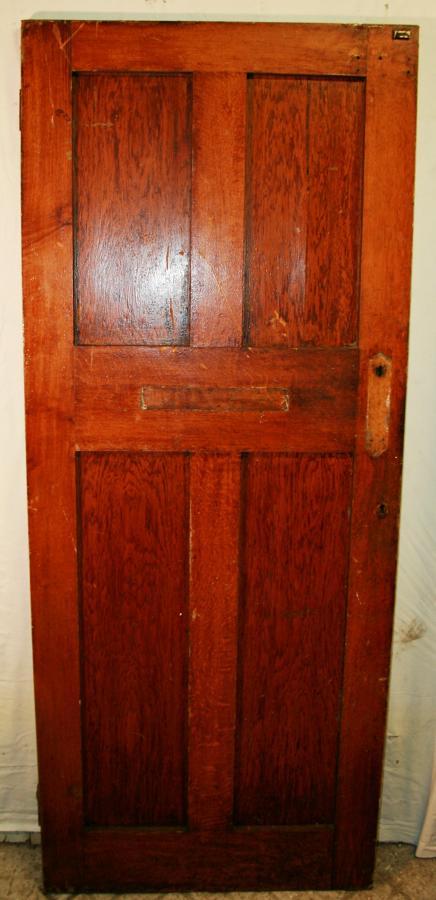 DB0621 A Solid Oak, Arts & Crafts door c. 1910