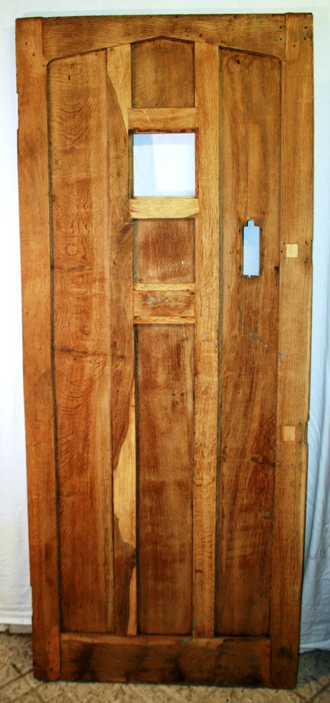 DB0622 A Solid Oak Cottage Door