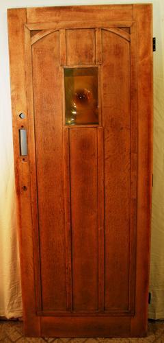 DE0724 A Handsome Oak Cottage Door, suitable for external use