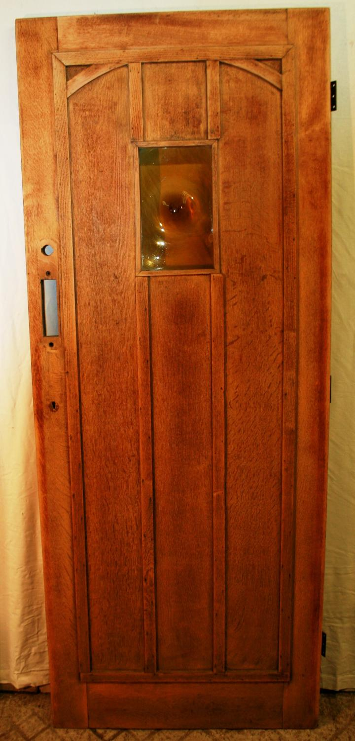 DE0724 A Handsome Oak Cottage Door, suitable for external use
